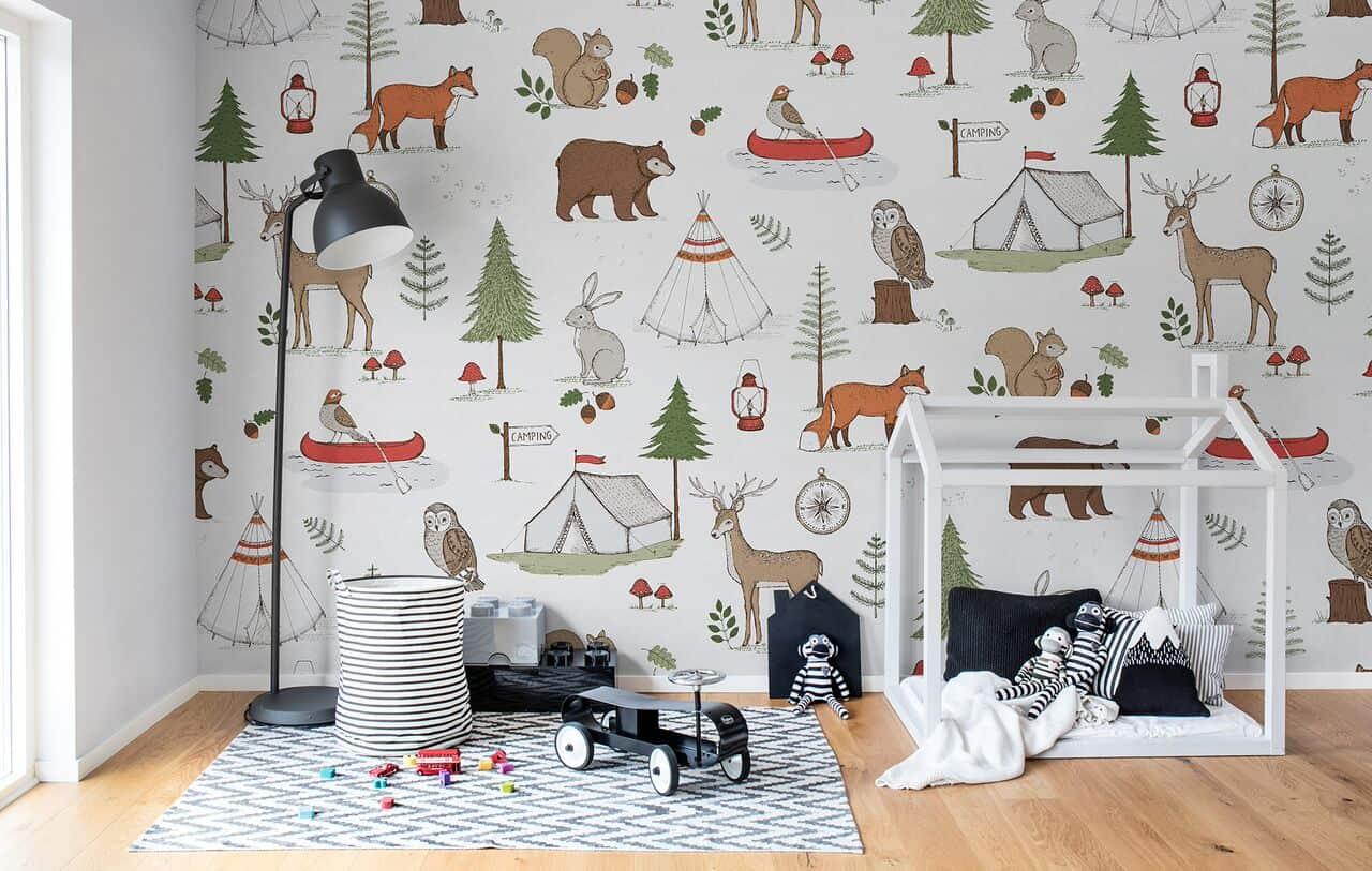 camera copil loc de joaca