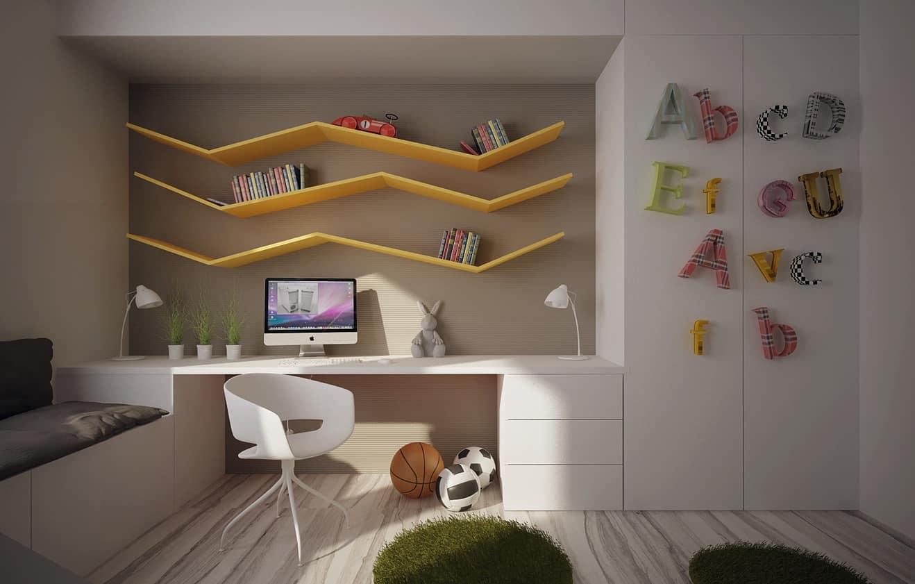 camera copilului si locul pentru teme