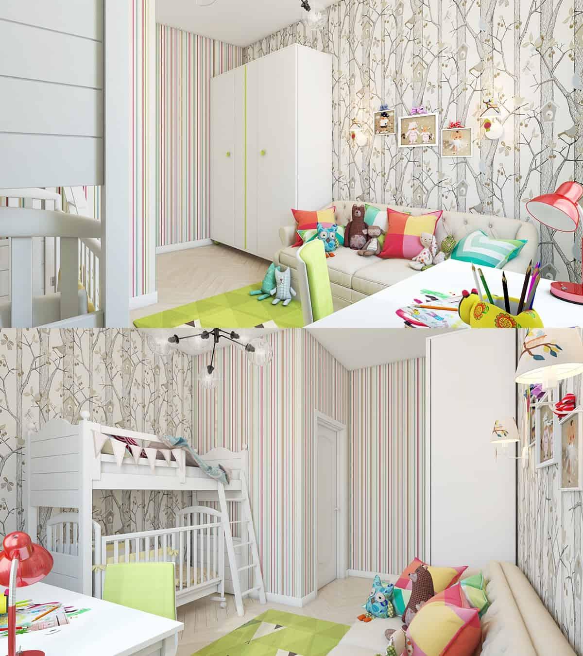 amenjarea in etape pentru camera copilului