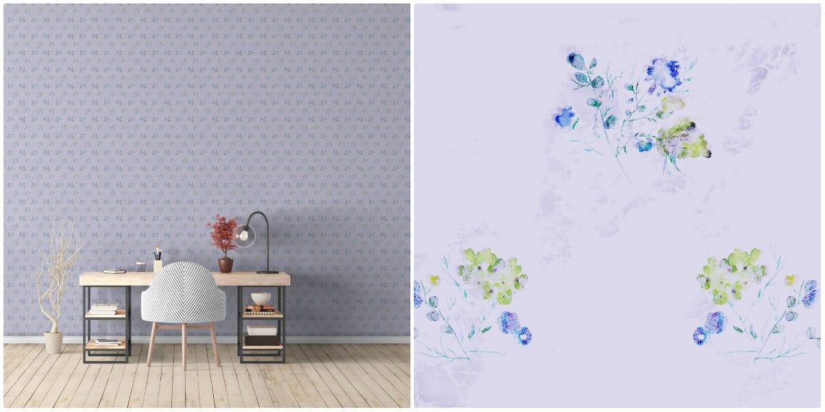 Fototapet personalizat Souvenir Bouquet
