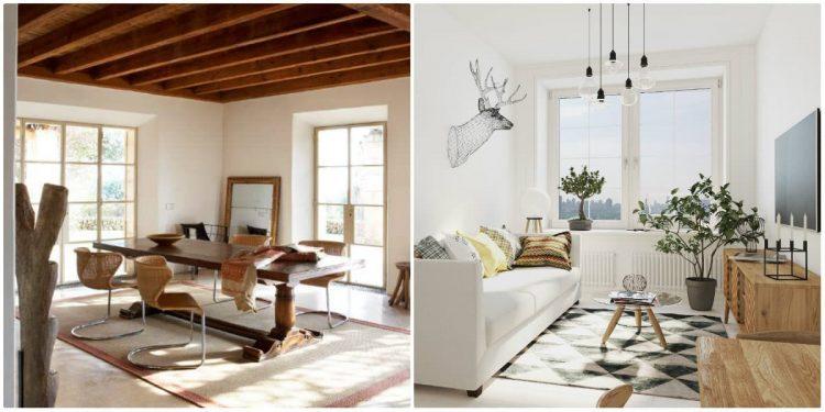 Asemănări și deosebiri între stilul eco și scandinav