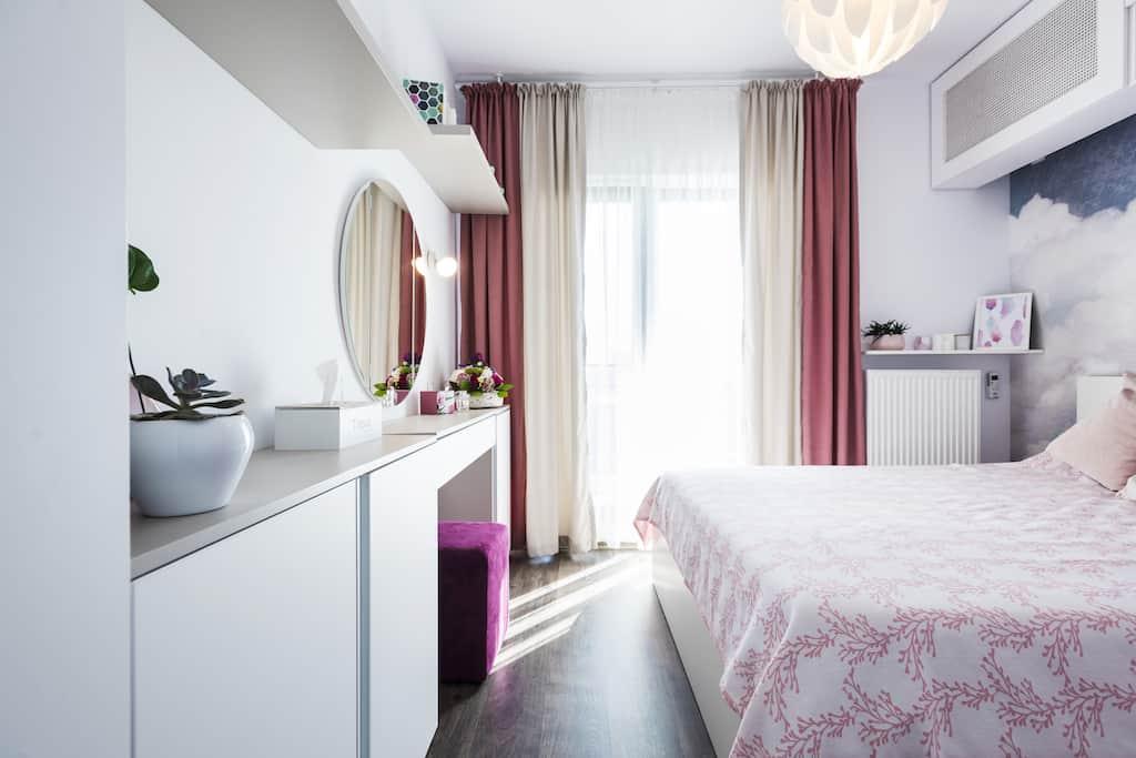 Dormitor amenajare Four Studio Design