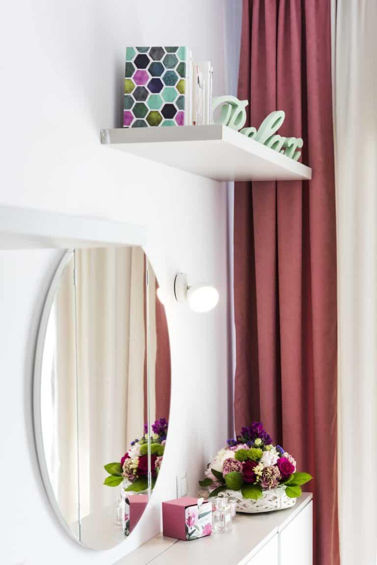Dormitor detalii design Four Studio Design