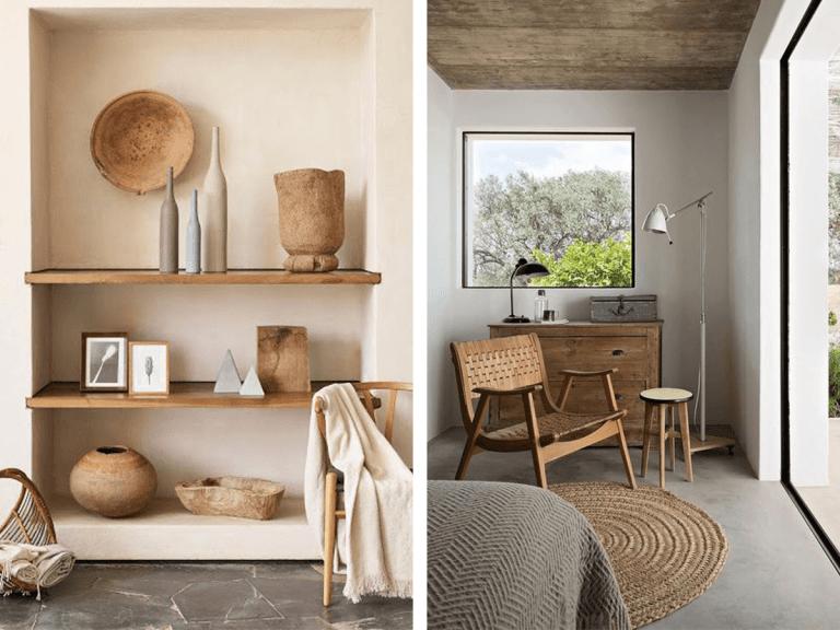 Stil organic modern decor