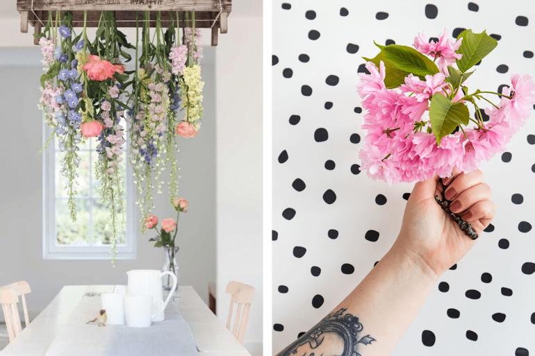 Inspirații florale pentru case pline de viață