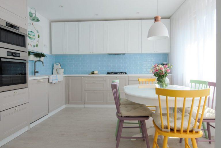 Design interior bucatarie noua
