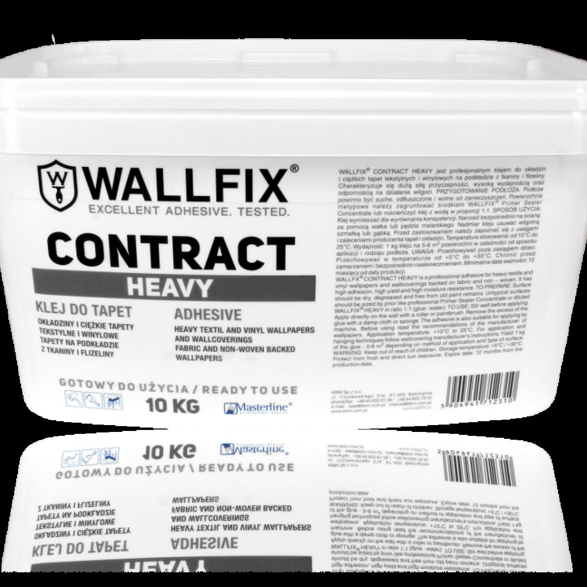 Adeziv pastă WALLFIX Heavy pentru tapet vinilic greu, 2.5 kg