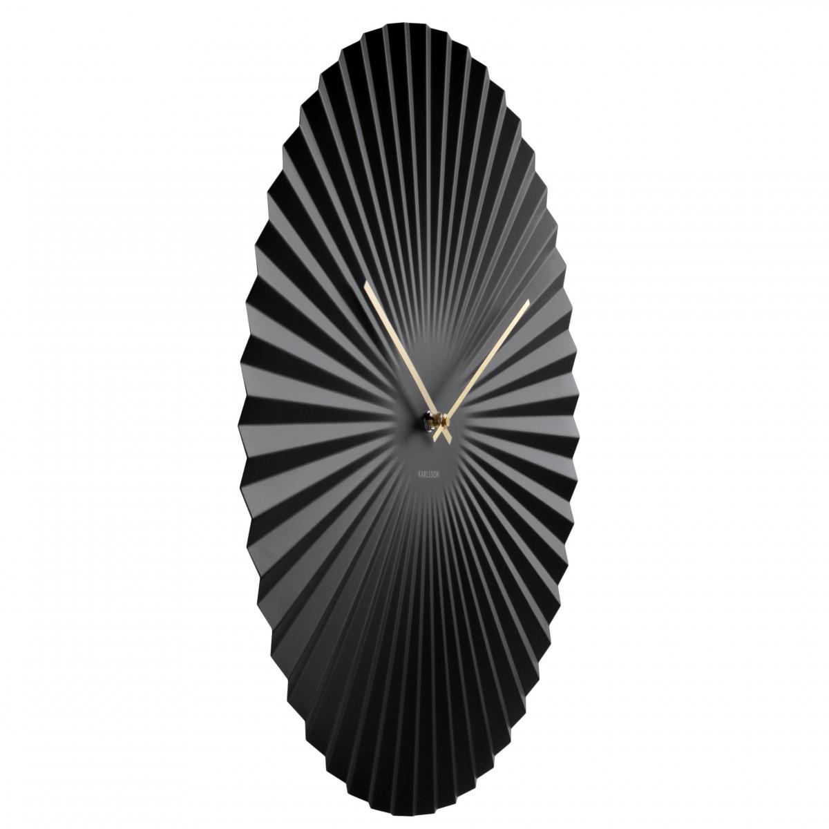 Ceas de perete Sensu XL negru, Karlsson