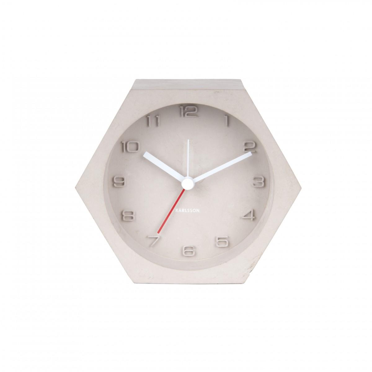 Ceas cu alarmă Hexagon, Karlsson