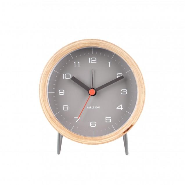 Ceas cu alarmă  Inhate gri, Design Boxtel and Buijs, Karlsson