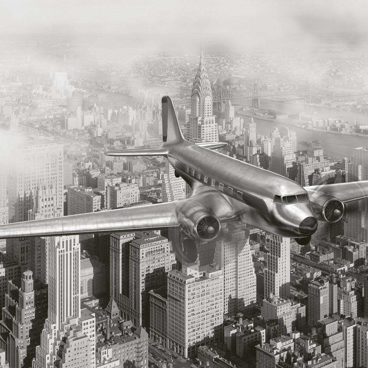 Foto tapet 3D Airplane, Dimex, 5 fâșii, 375 x 250cm