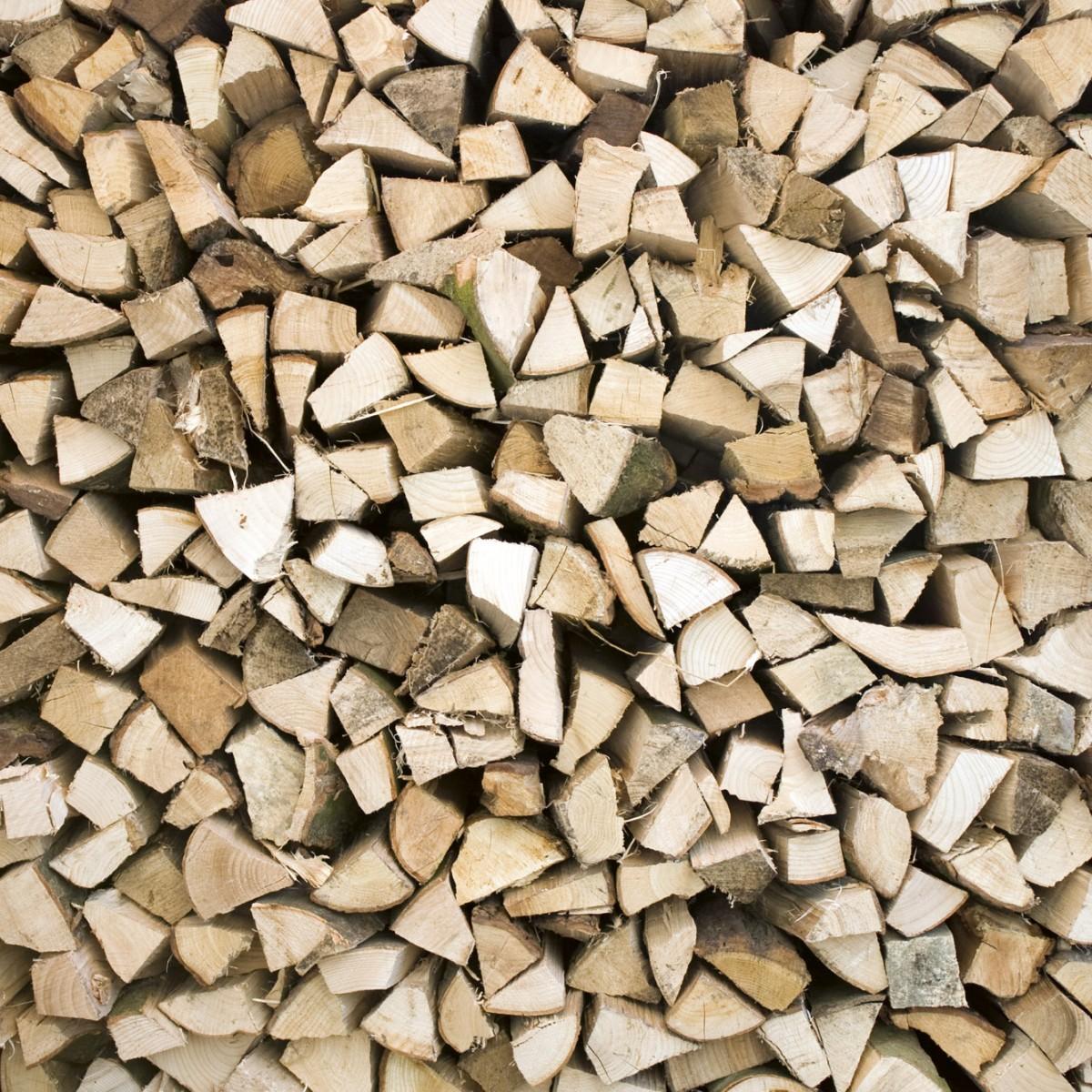 Foto tapet 3D Timber Logs, Dimex, 5 fâșii, 375 x 250cm