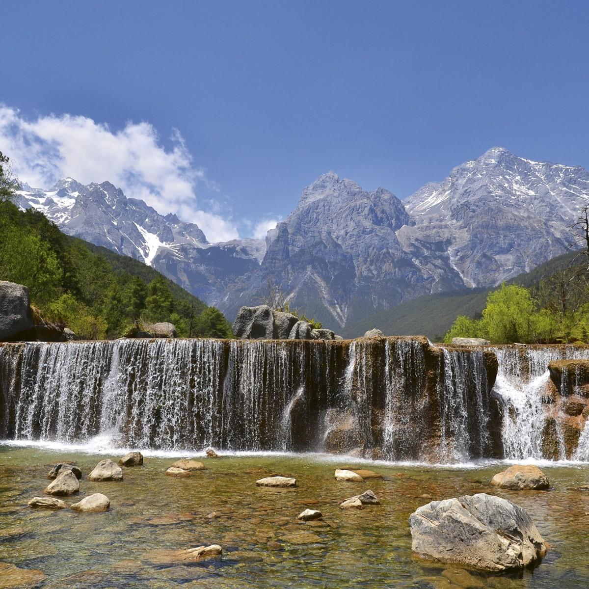 Foto tapet 3D Alps, Dimex, 5 fâșii, 375 x 250cm