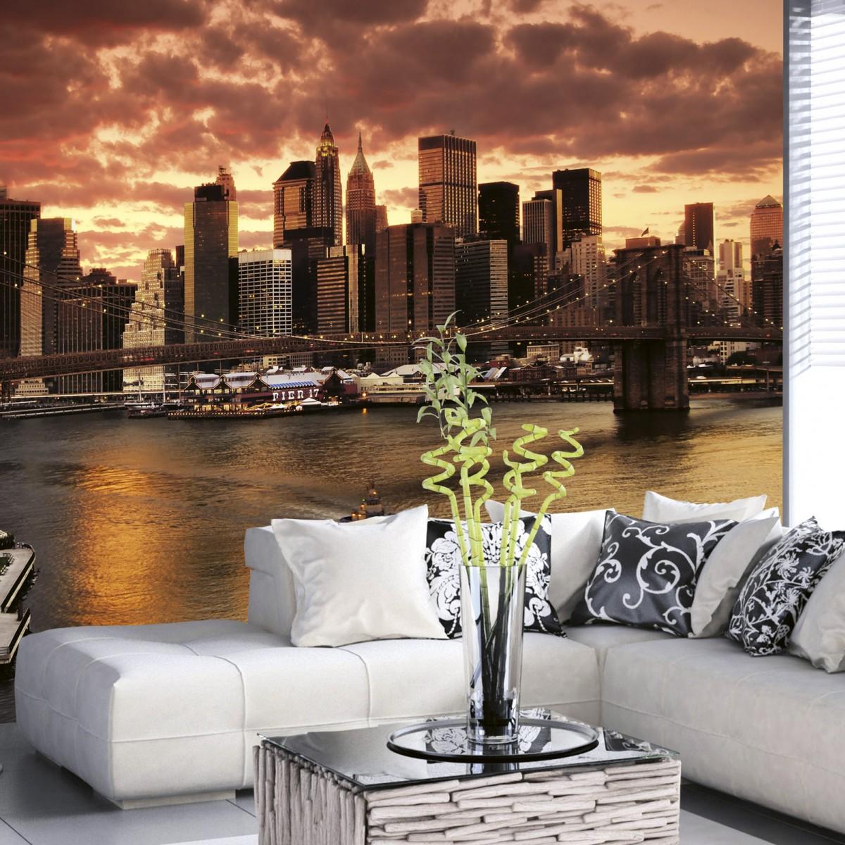 Foto tapet 3D New York, Dimex, 5 fâșii, 375 x 250cm