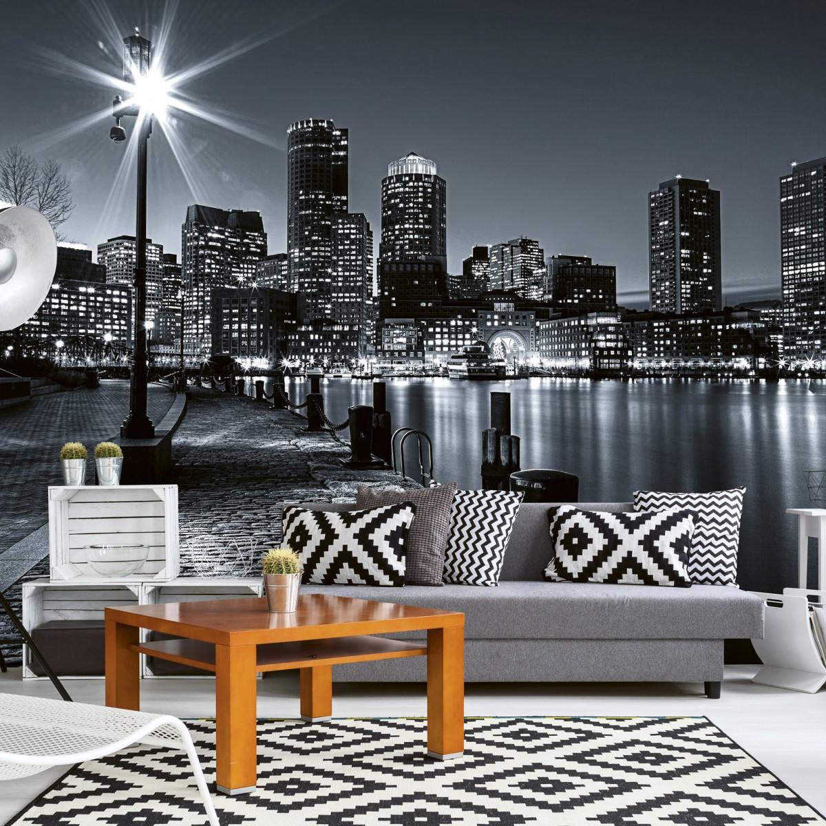 Foto tapet 3D Boston, Dimex, 5 fâșii, 375 x 250cm