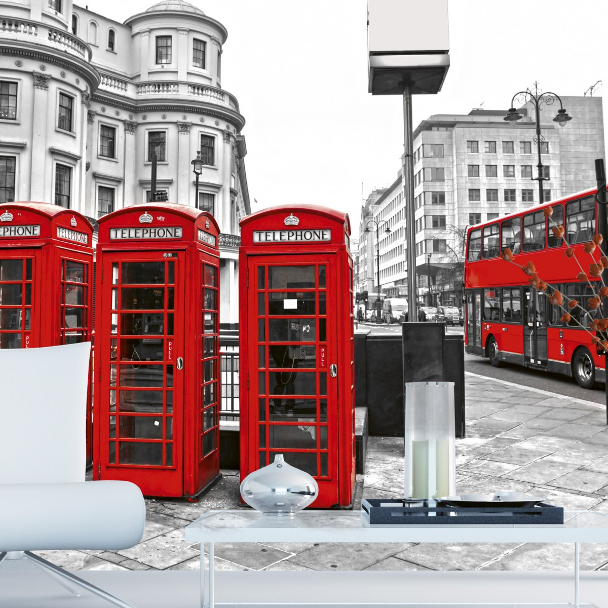 Foto tapet 3D London, Dimex, 5 fâșii, 375 x 250cm
