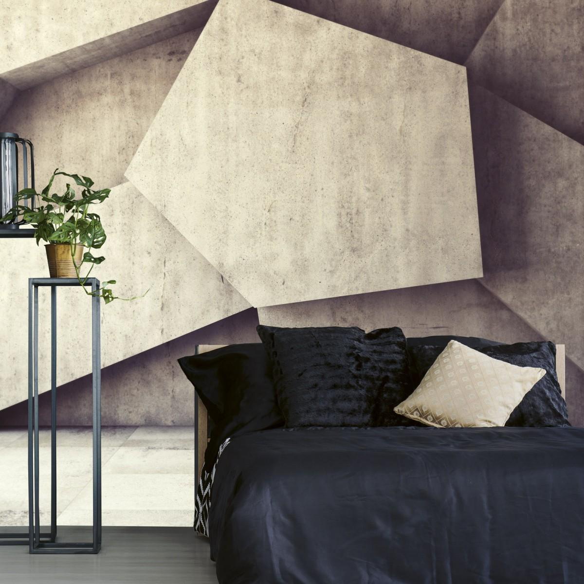 Foto tapet 3D Concrete Background, Dimex, 5 fâșii, 375 x 250cm