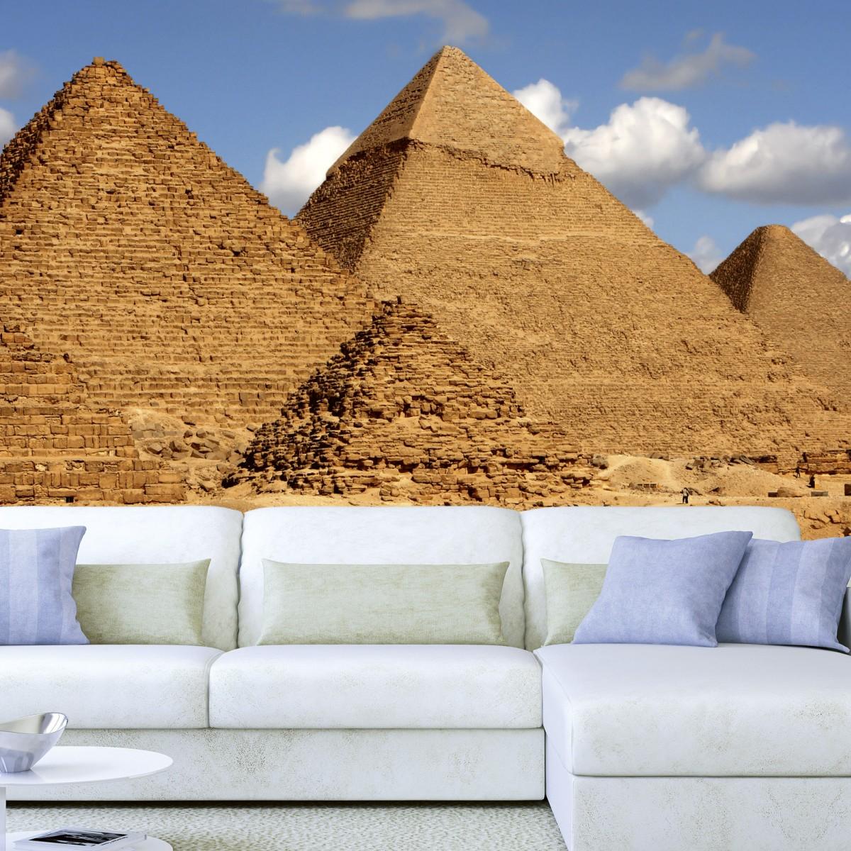 Foto tapet 3D Egypt Pyramids, Dimex, 5 fâșii, 375 x 250cm