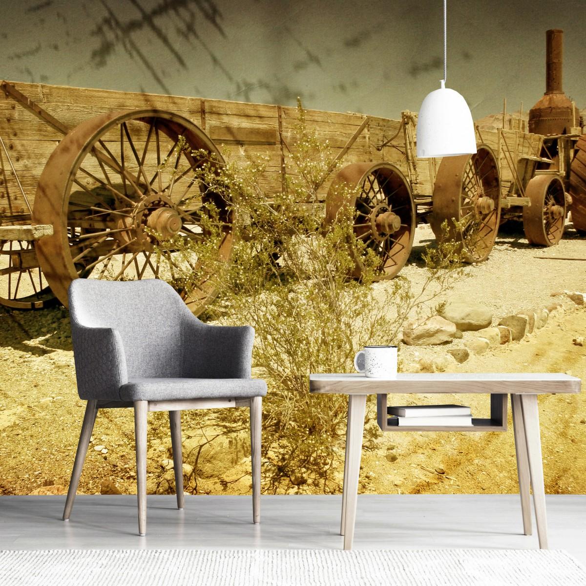 Foto tapet 3D Old Wagon, Dimex, 5 fâșii, 375 x 250cm