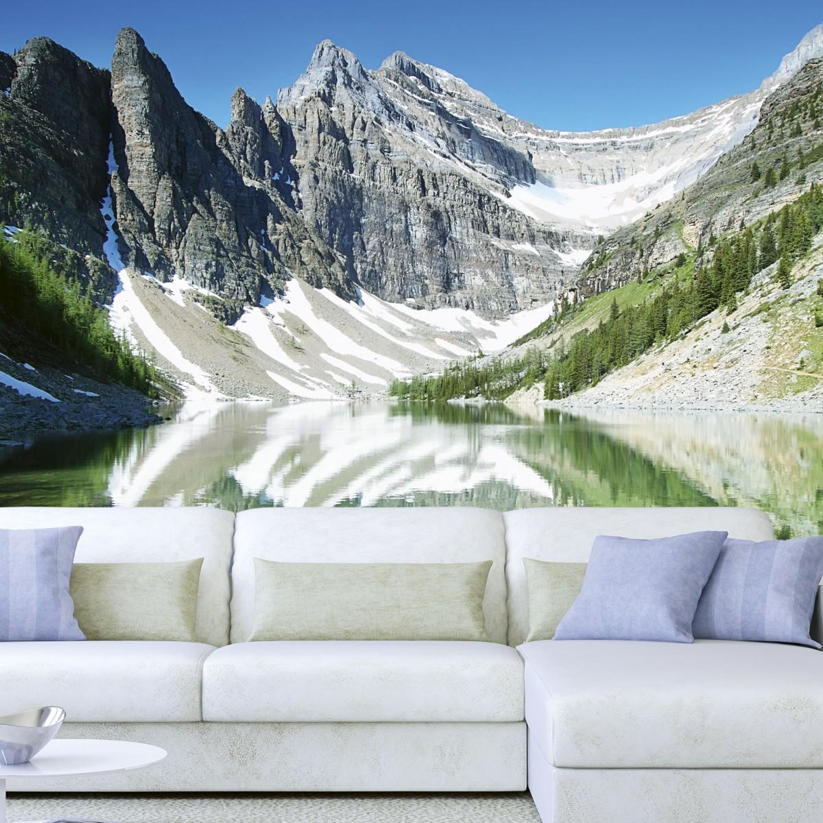 Foto tapet 3D Lake Agnes, Dimex, 5 fâșii, 375 x 250cm