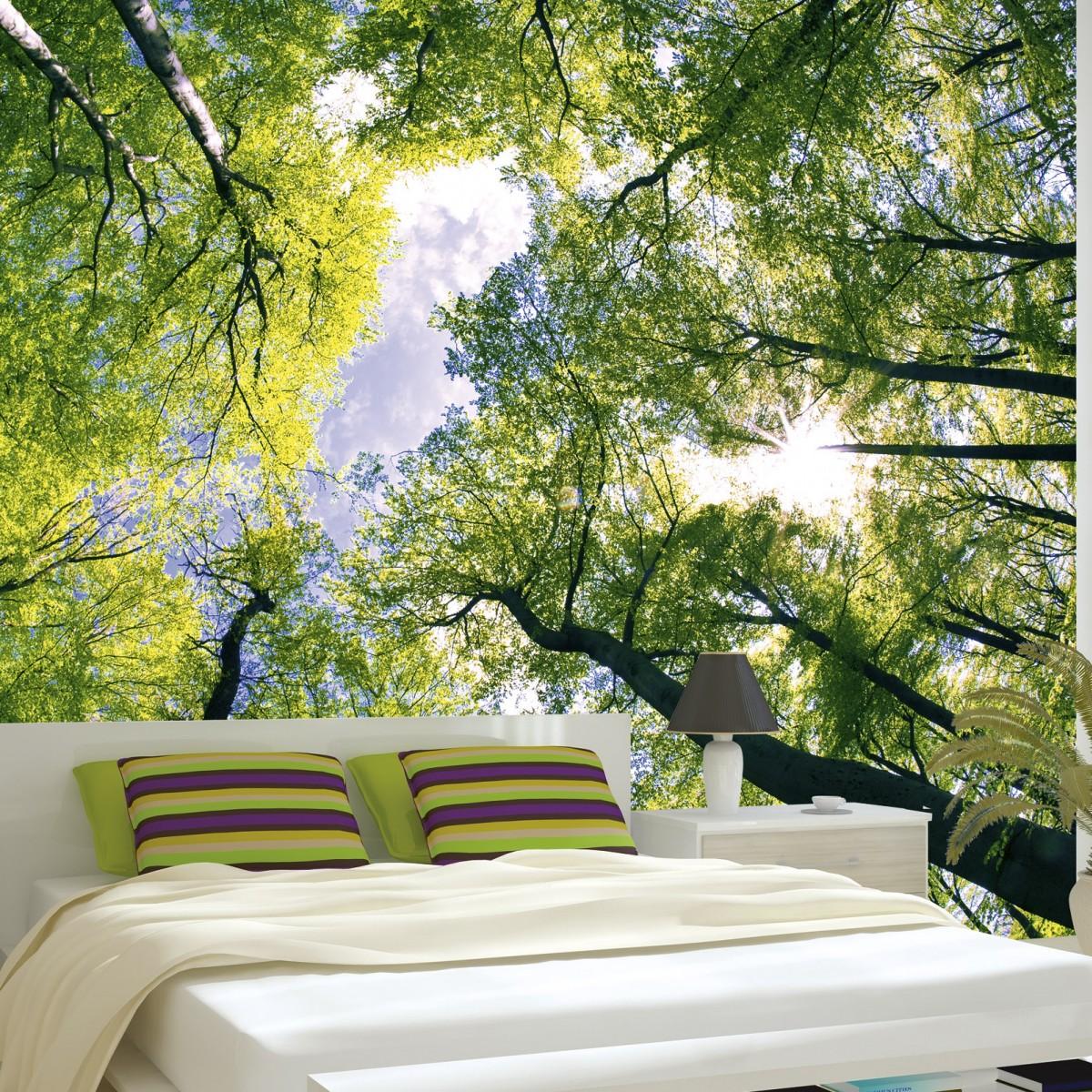 Foto tapet 3D Trees, Dimex, 5 fâșii, 375 x 250cm