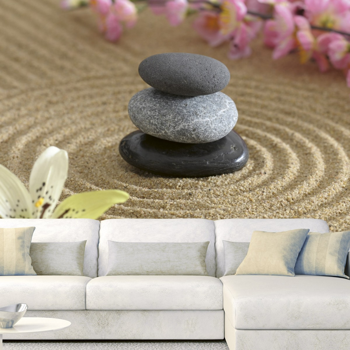 Foto tapet 3D Zen Garden, Dimex, 5 fâșii, 375 x 250cm