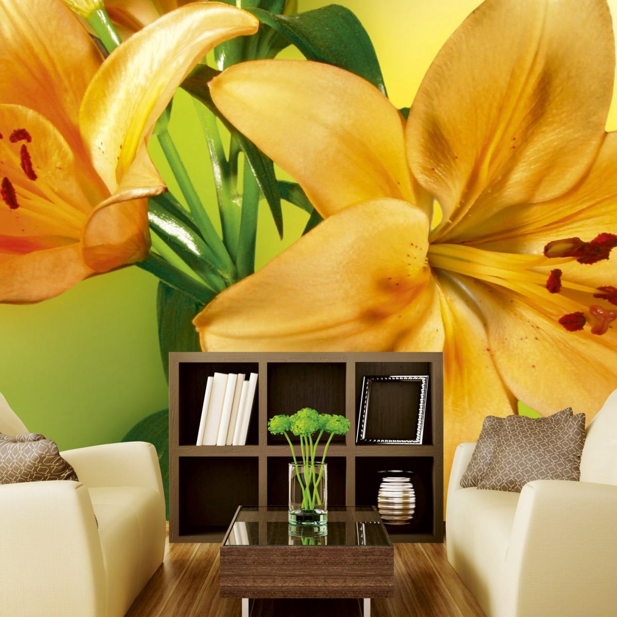 Foto tapet 3D Lily, Dimex, 5 fâșii, 375 x 250cm