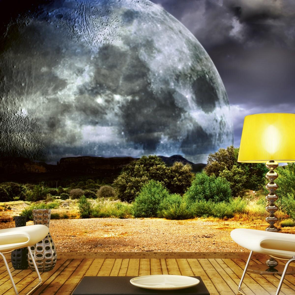Foto tapet 3D Moon, Dimex, 5 fâșii, 375 x 250cm