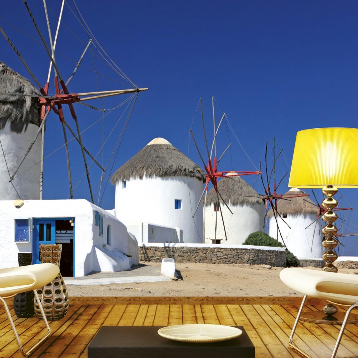Foto tapet 3D Windmills, Dimex, 5 fâșii, 375 x 250cm