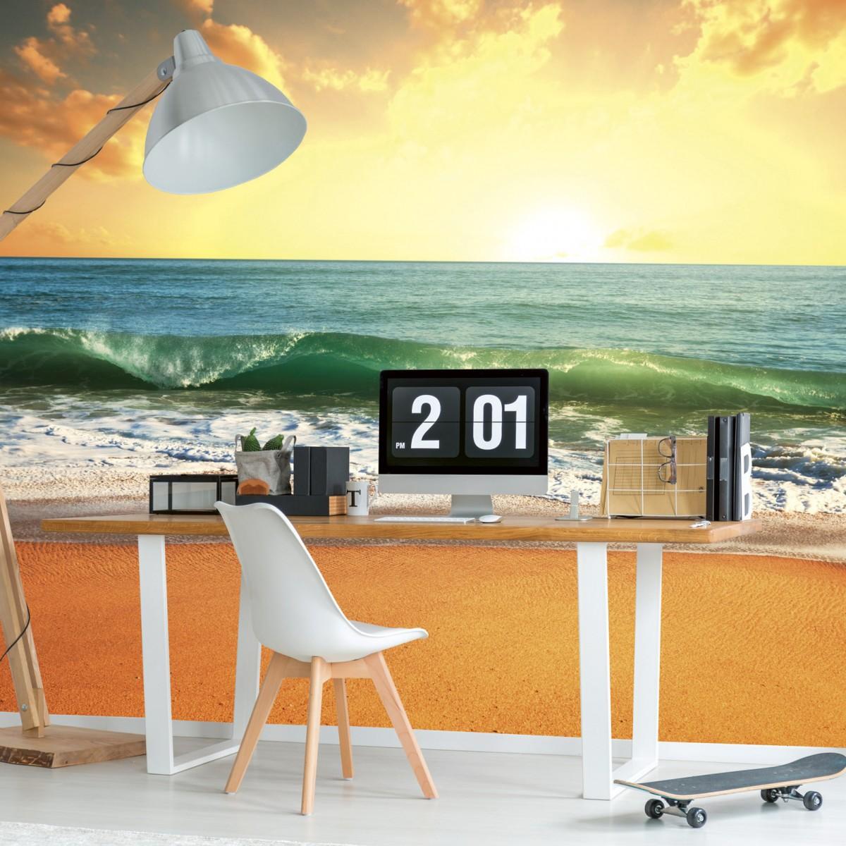 Foto tapet 3D Sea Sunset, Dimex, 5 fâșii, 375 x 250cm
