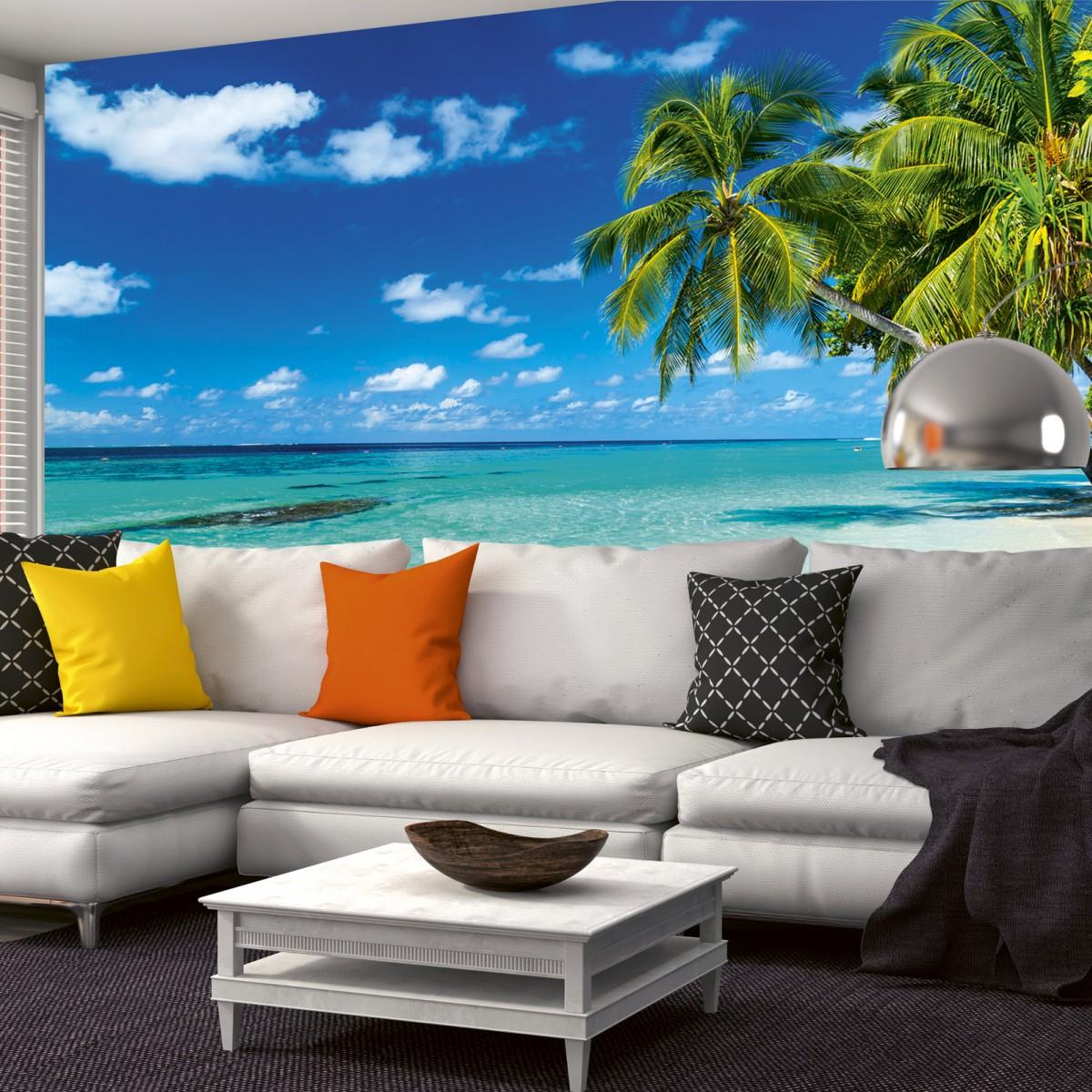 Foto tapet 3D Paradise Beach, Dimex, 5 fâșii, 375 x 250cm