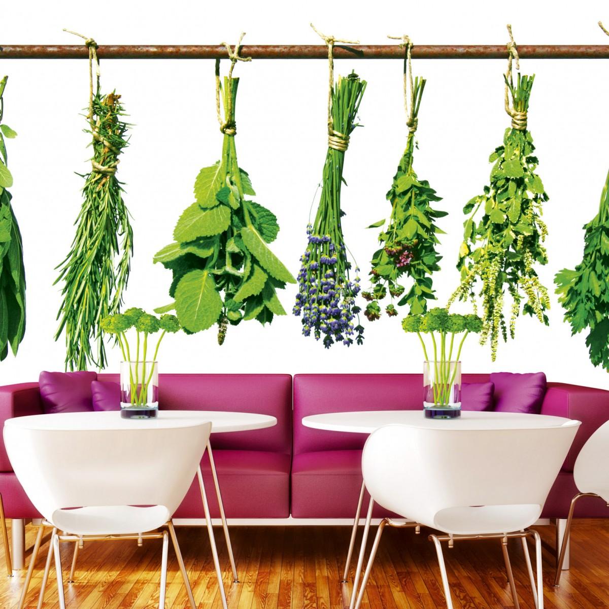 Foto tapet 3D Herbs, Dimex, 5 fâșii, 375 x 250cm