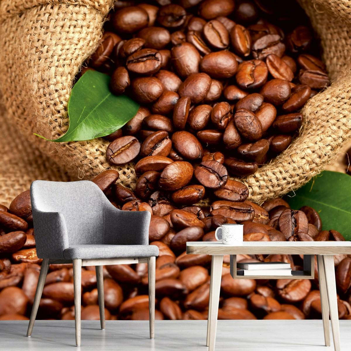 Foto tapet 3D Coffee Beans, Dimex, 5 fâșii, 375 x 250cm