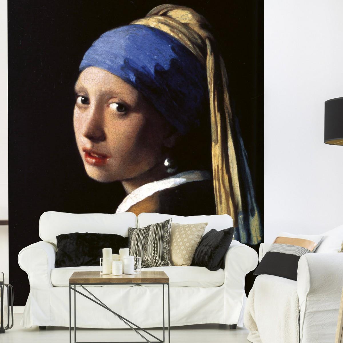 Foto tapet 3D Girl With Earing, Dimex, 5 fâșii, 375 x 250cm