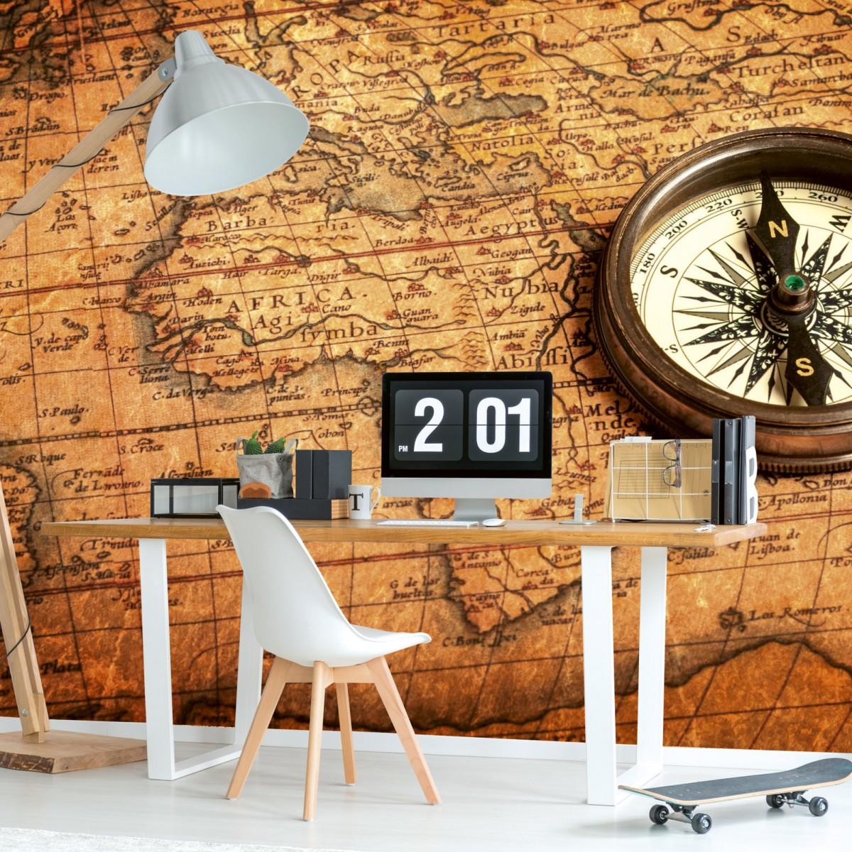 Foto tapet 3D Compass, Dimex, 5 fâșii, 375 x 250cm