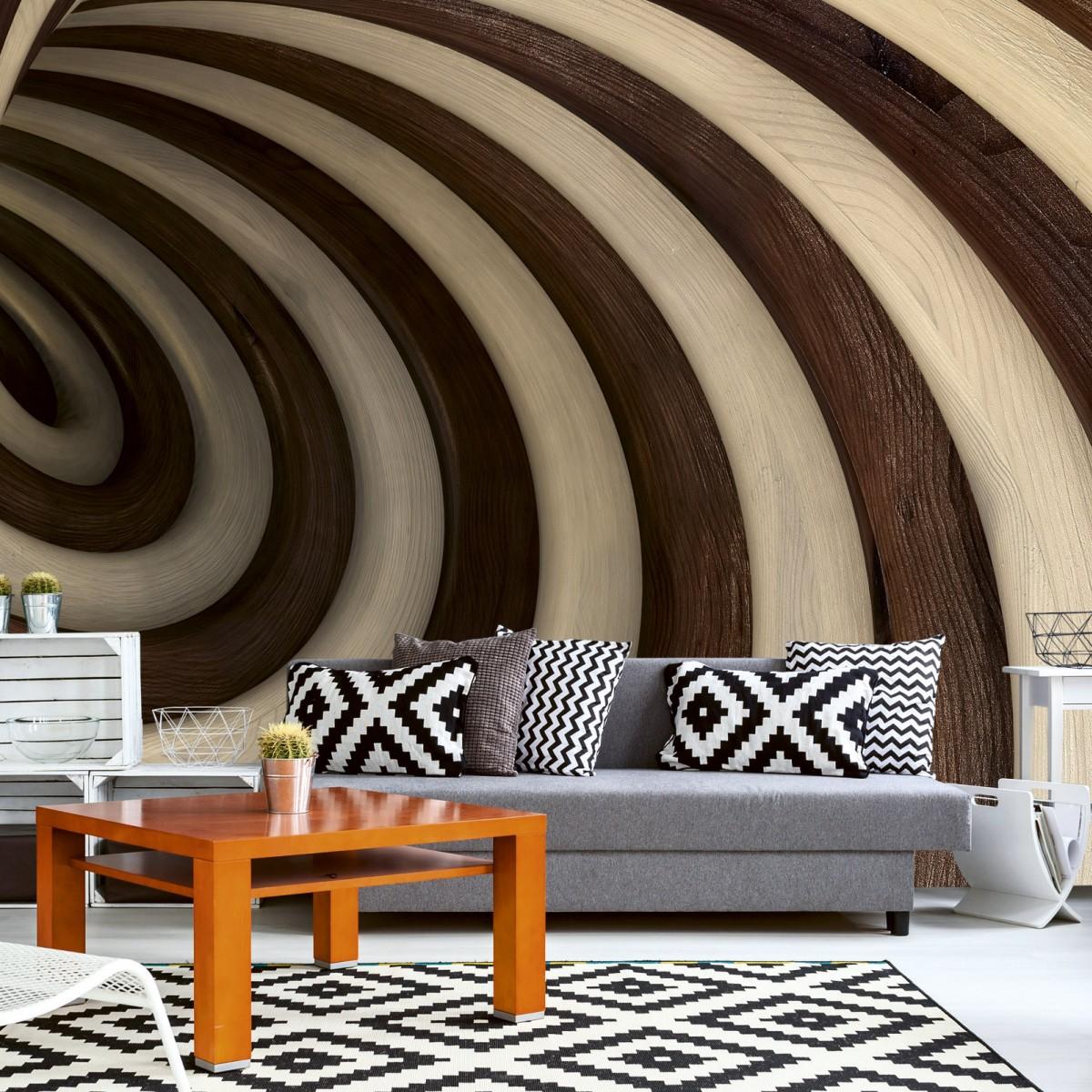 Foto tapet 3D Twisted Tunel, Dimex, 5 fâșii, 375 x 250cm