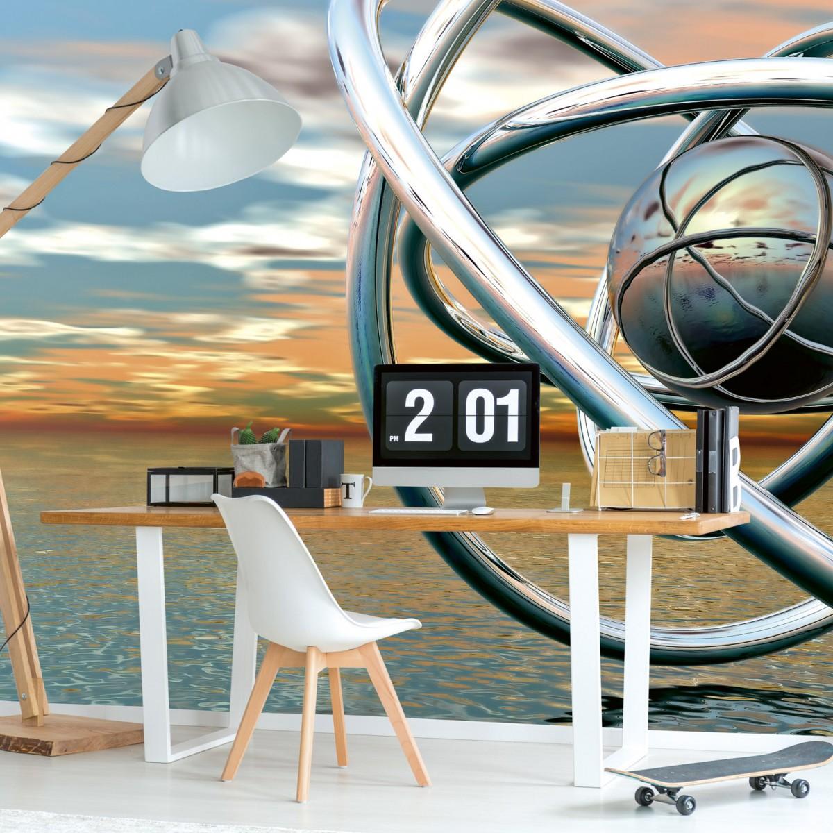 Foto tapet 3D Abstract Balls, Dimex, 5 fâșii, 375 x 250cm