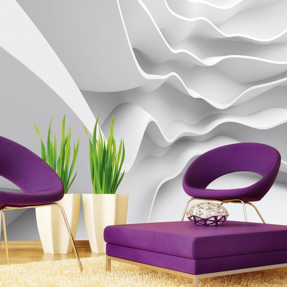 Foto tapet 3D Futuristic Wave, Dimex, 5 fâșii, 375 x 250cm