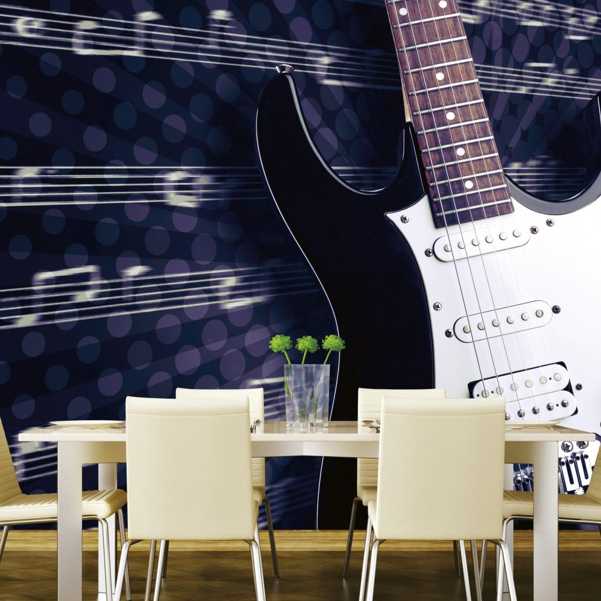 Foto tapet 3D Electric Guitar, Dimex, 5 fâșii, 375 x 250cm