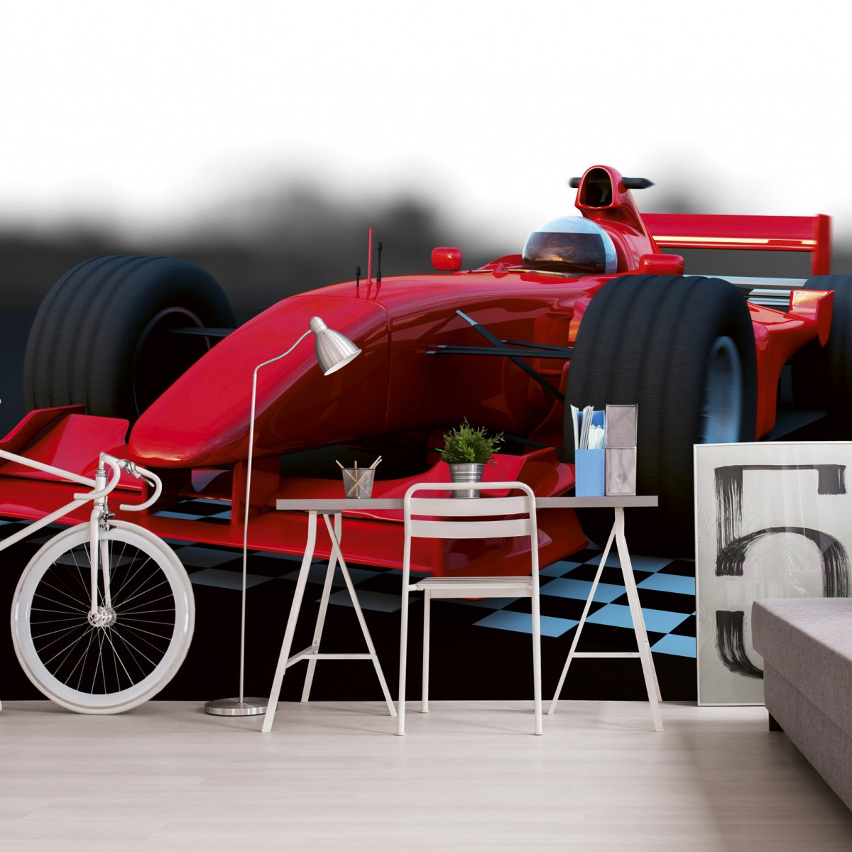 Foto tapet 3D Formula, Dimex, 5 fâșii, 375 x 250cm