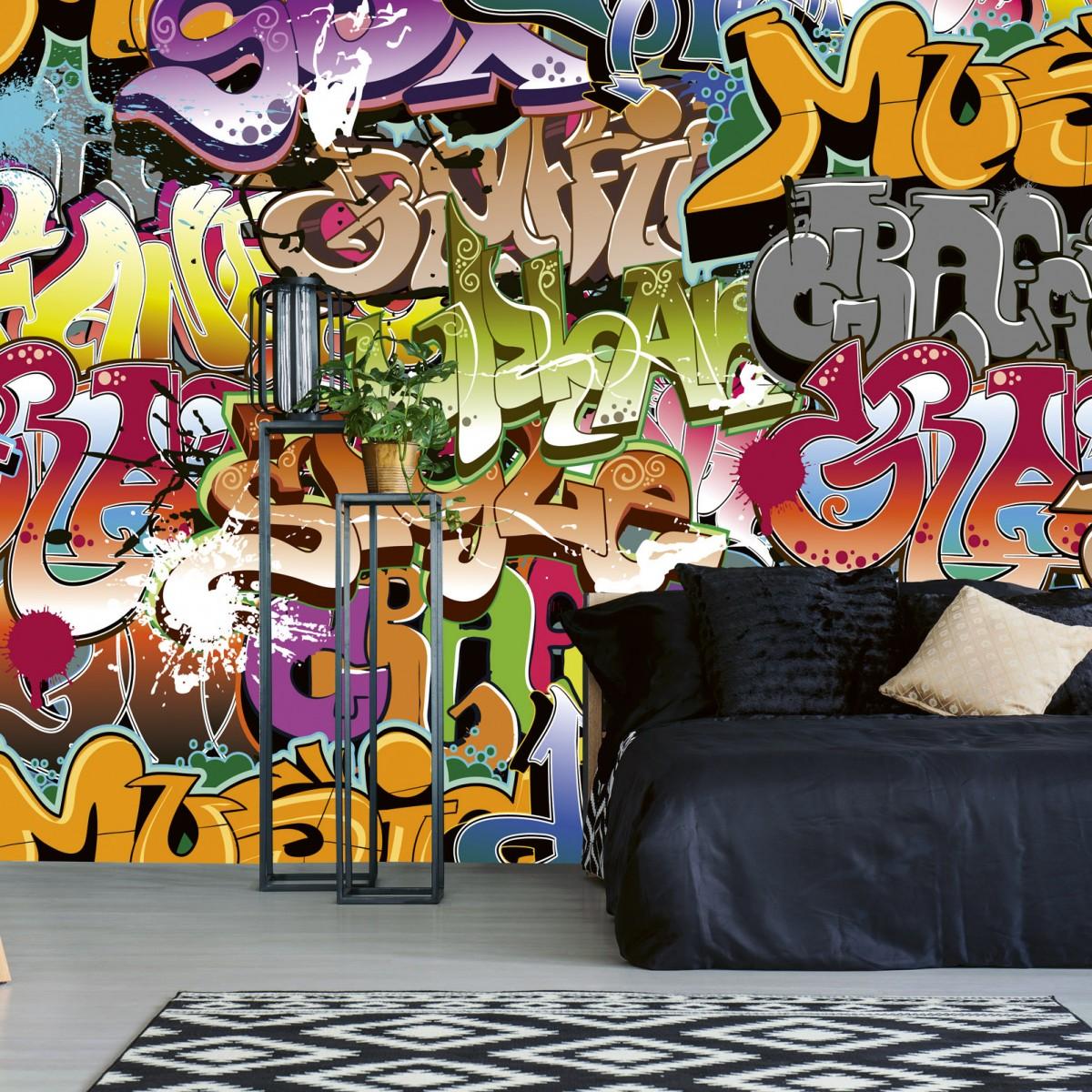 Foto tapet 3D Graffiti Art, Dimex, 5 fâșii, 375 x 250cm