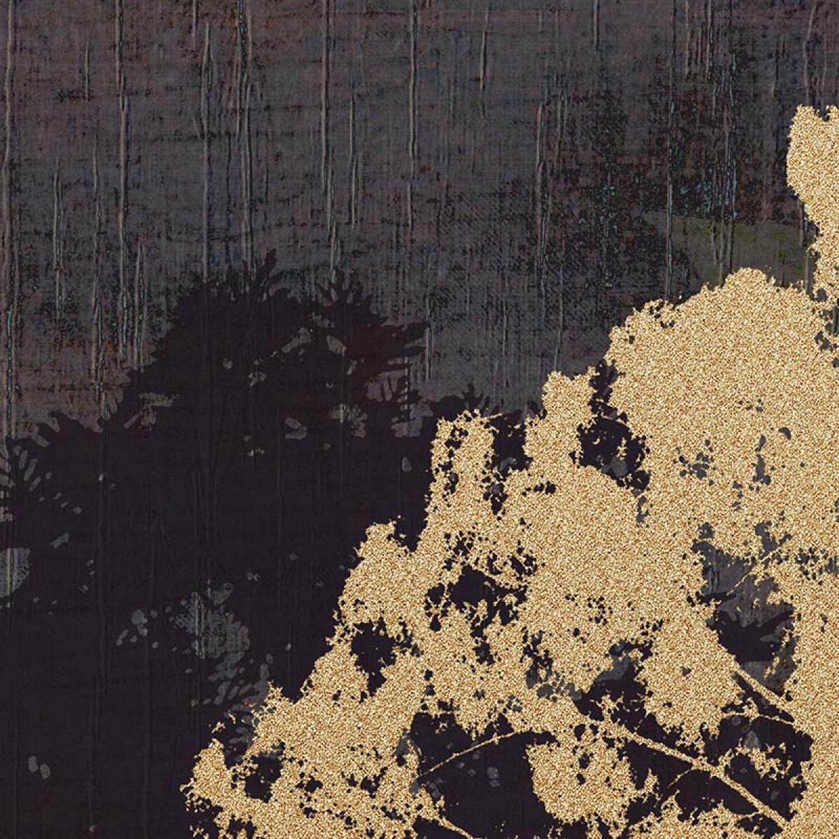 Fototapet contemporan Foresta d'oro, personalizat, Idea Murale