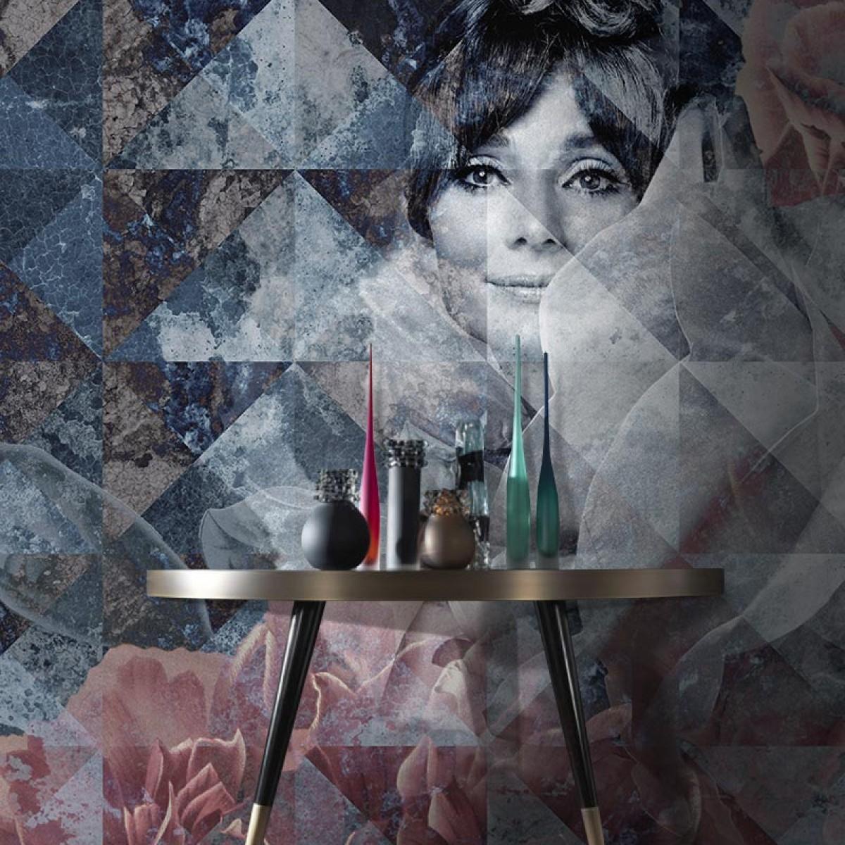 Fototapet contemporan The Smile, personalizat, Idea Murale