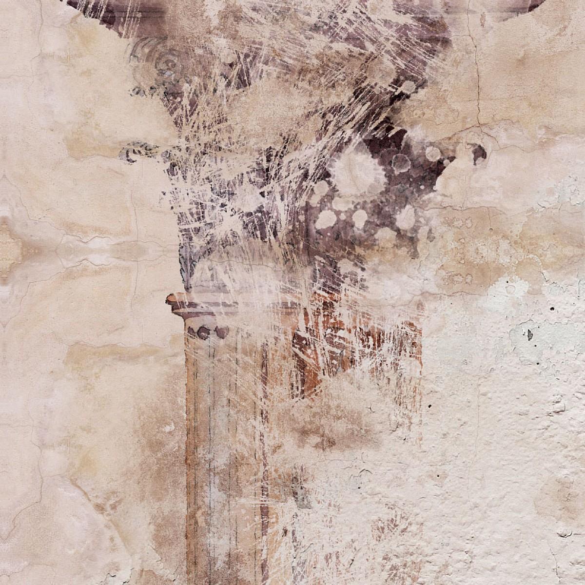 Fototapet contemporan Fresco Antique personalizat, idea murale