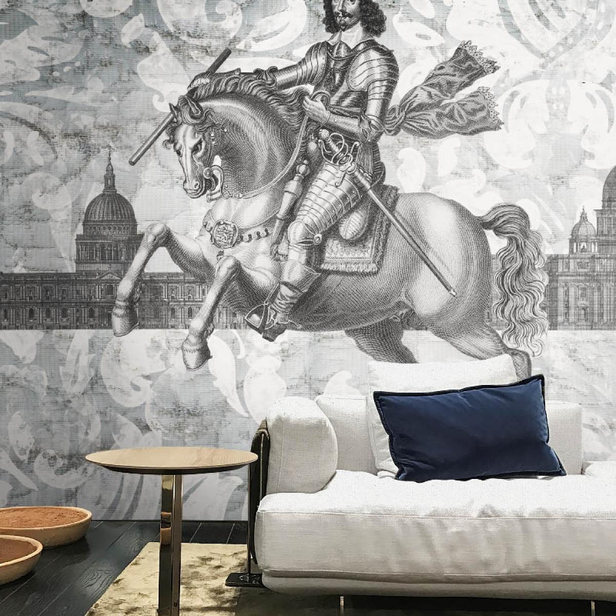 Fototapet contemporanIl Vincitore, personalizat, idea murale