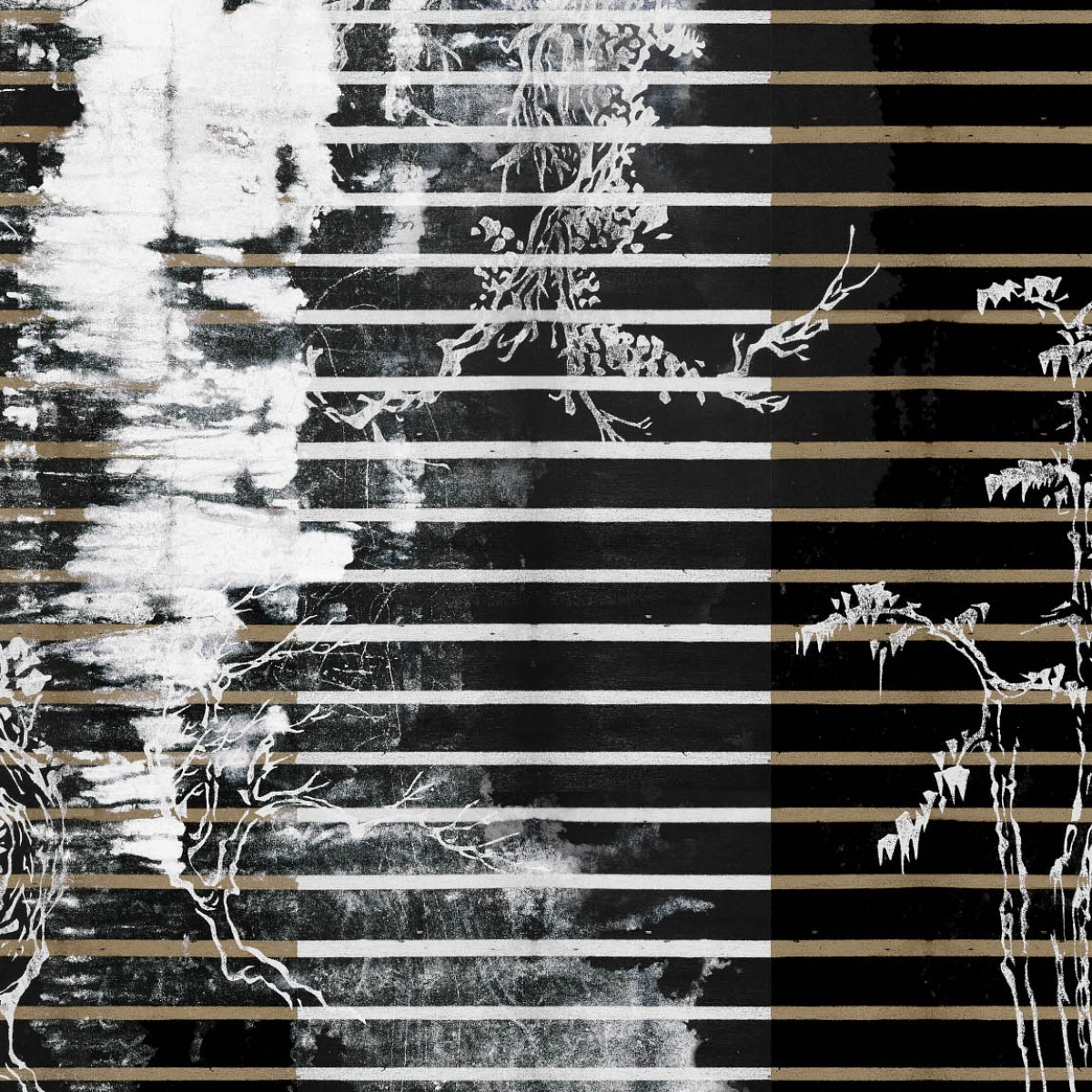 Fototapet contemporan Urban glitch, personalizat, idea murale