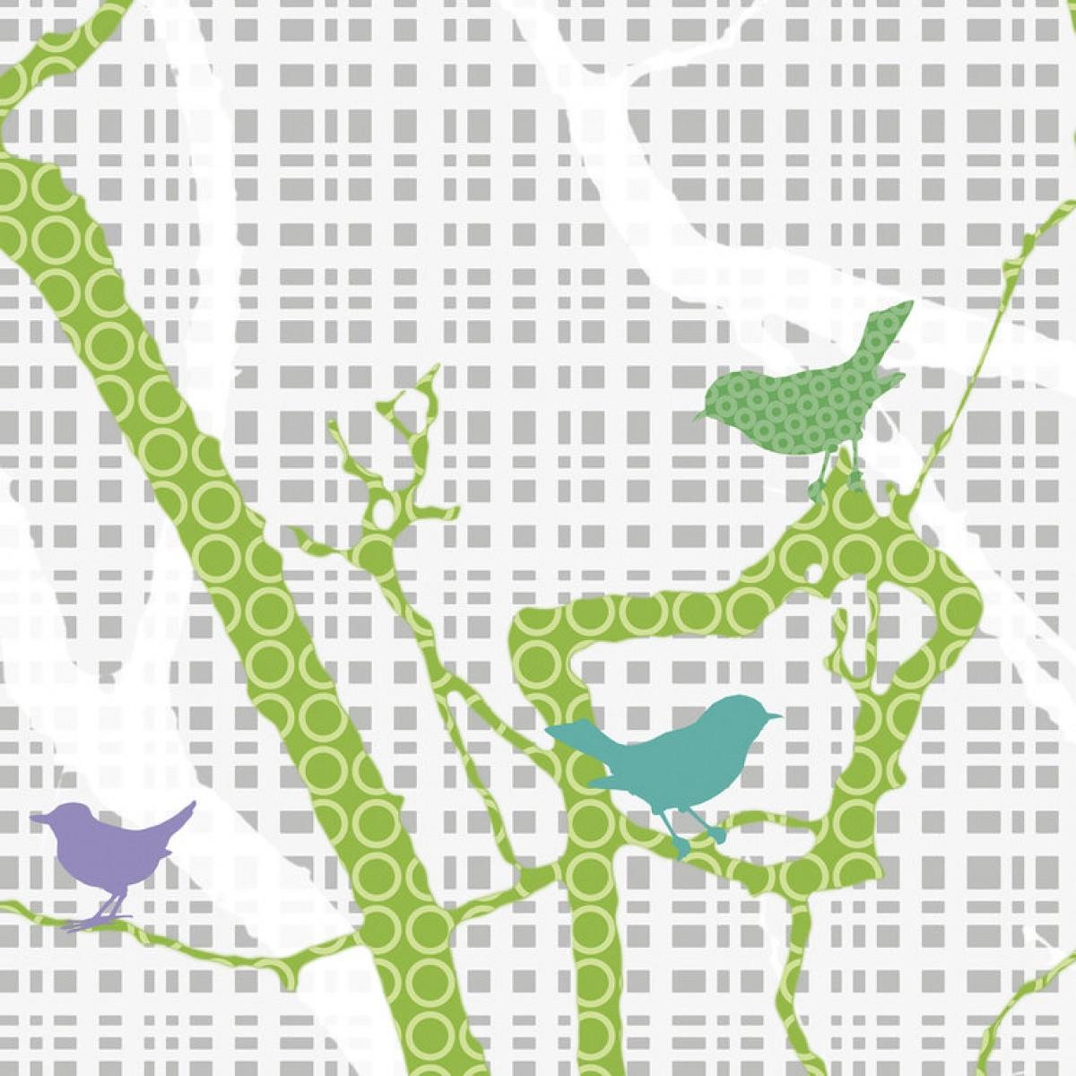 Fototapet Hide and Seek - Spring Green, personalizat, Photowall