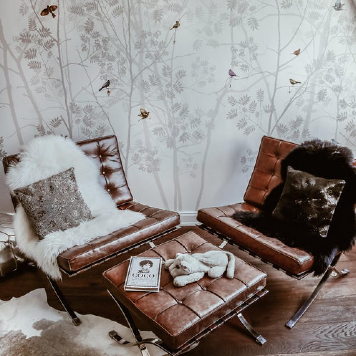 Fototapet Madame de Pompadour-Silver, personalizat, Photowall