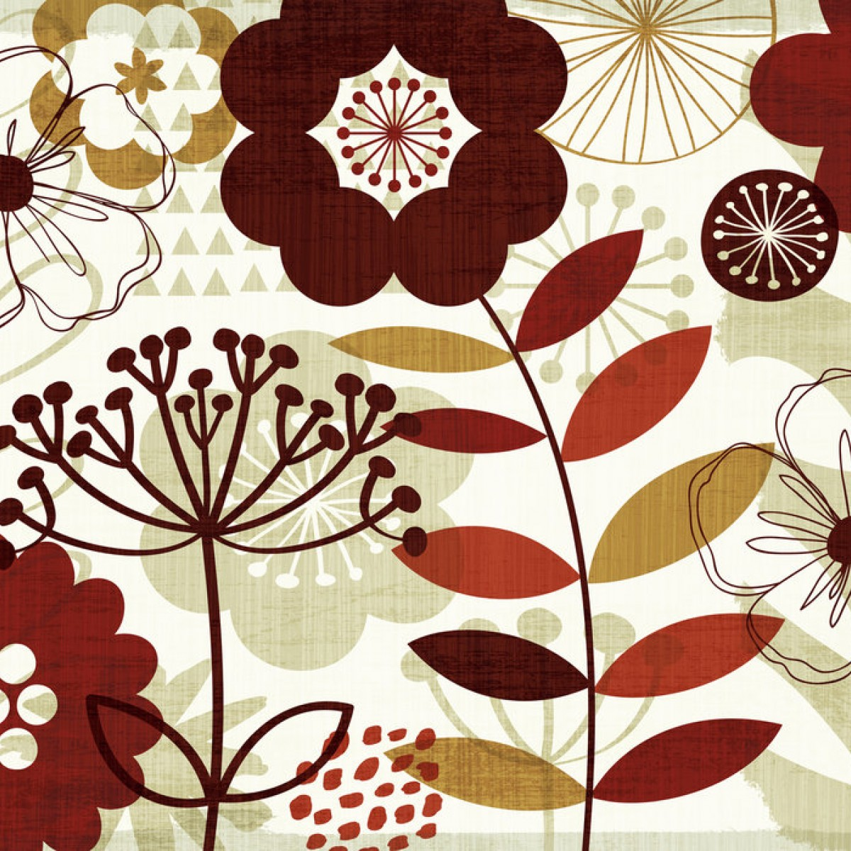 Fototapet Floral Pop I, personalizat, Photowall