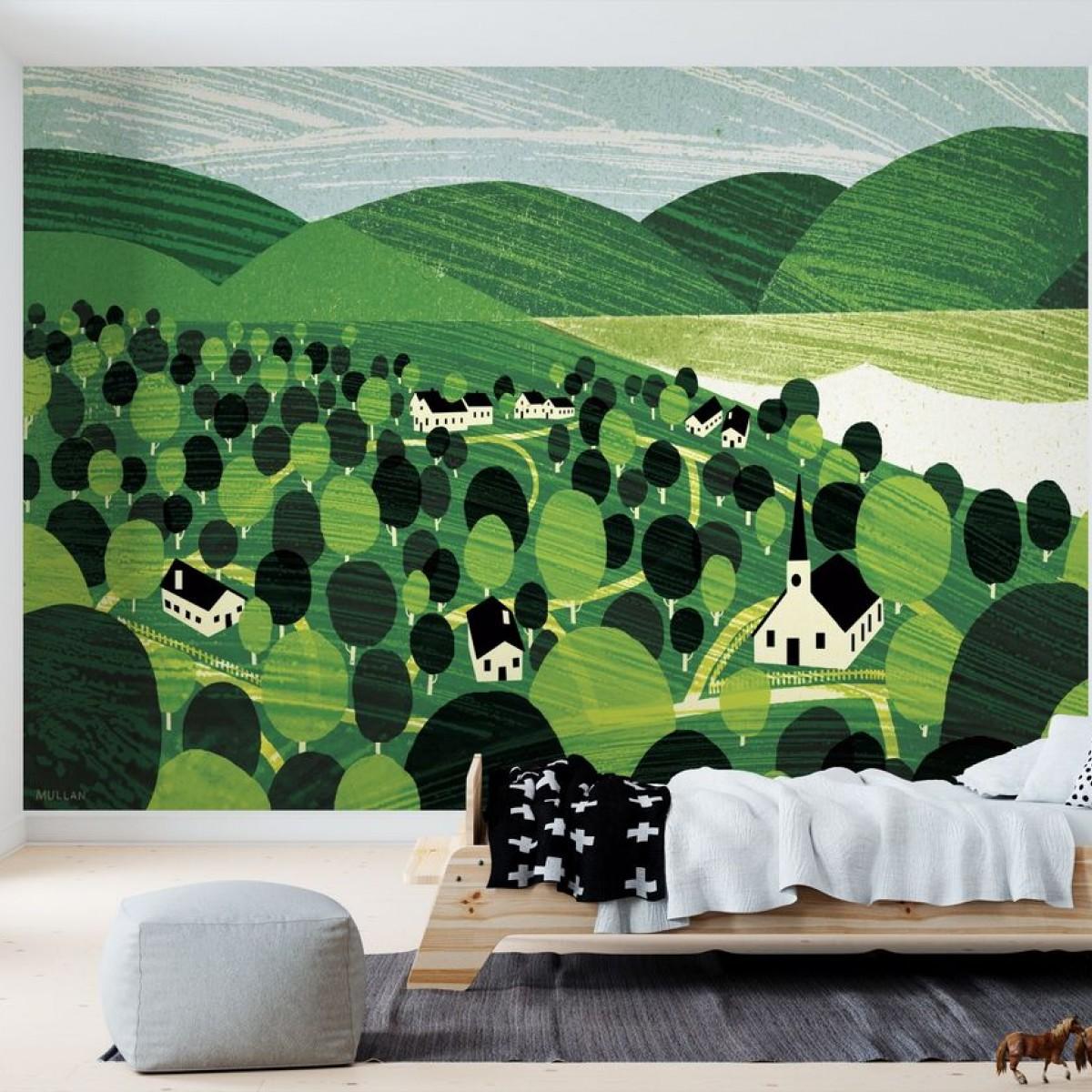 Fototapet Vermont Landscape, personalizat, Photowall